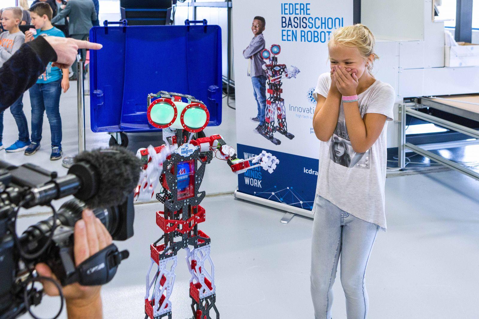 Robots inpakken met de CVP-500