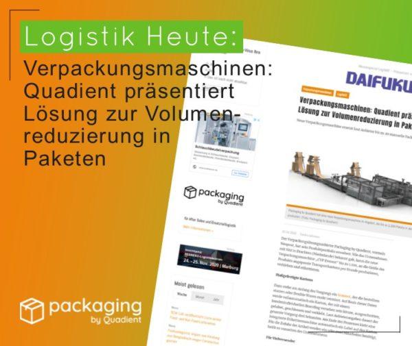 Logistik Heute Verpackungsmaschinen