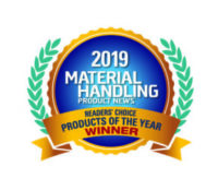 Material Handlings products of the Year winner award