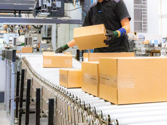 Boxes made with CVP Automated packaging solution