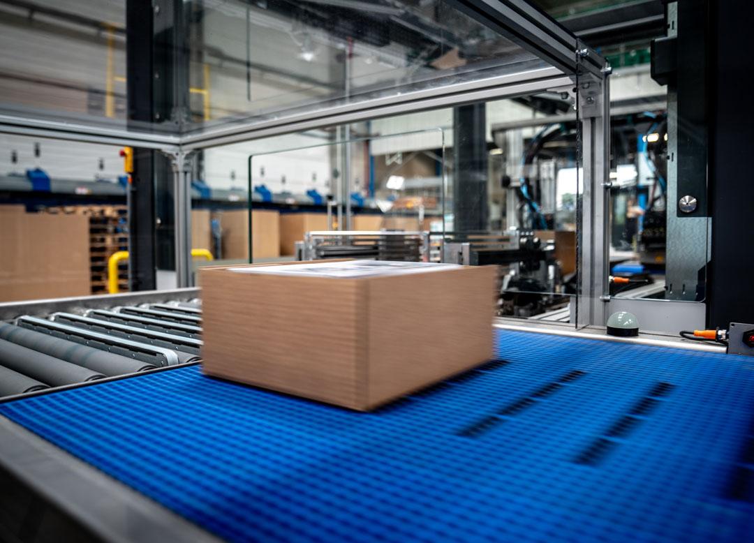 Automatisering van het verpakkingsproces