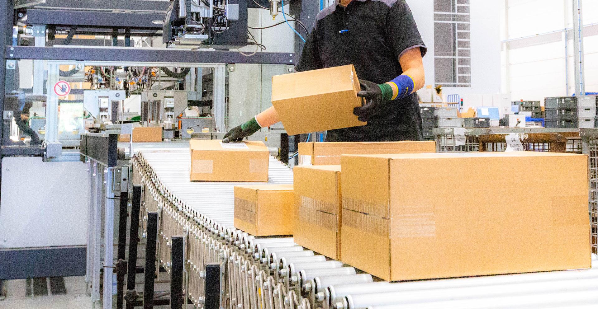 Betrouwbaar verpakkingsproces