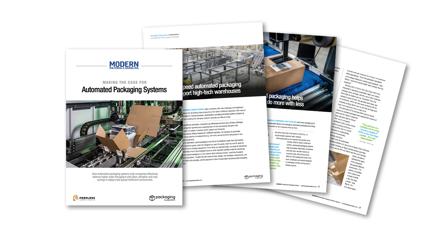 Making the Case for Automated Packaging