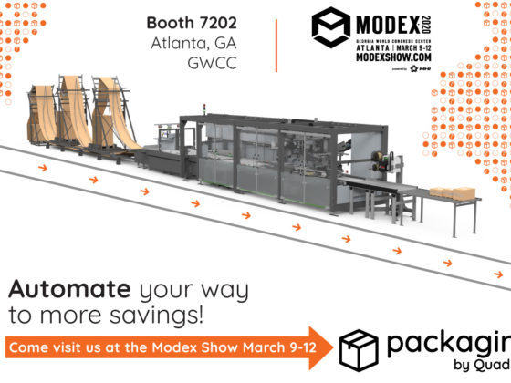 Packaging by Quadient Modex Tradeshow