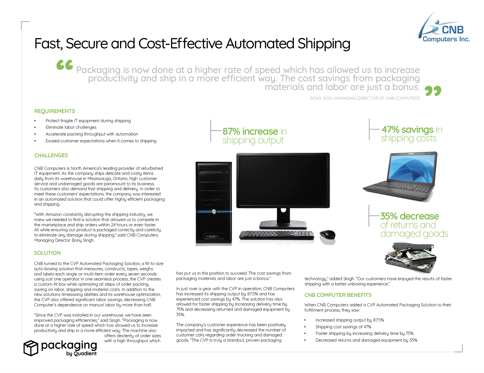 CNB Computers Case Study