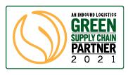 Inbound Logistics Green Supply Chain Partner 2021